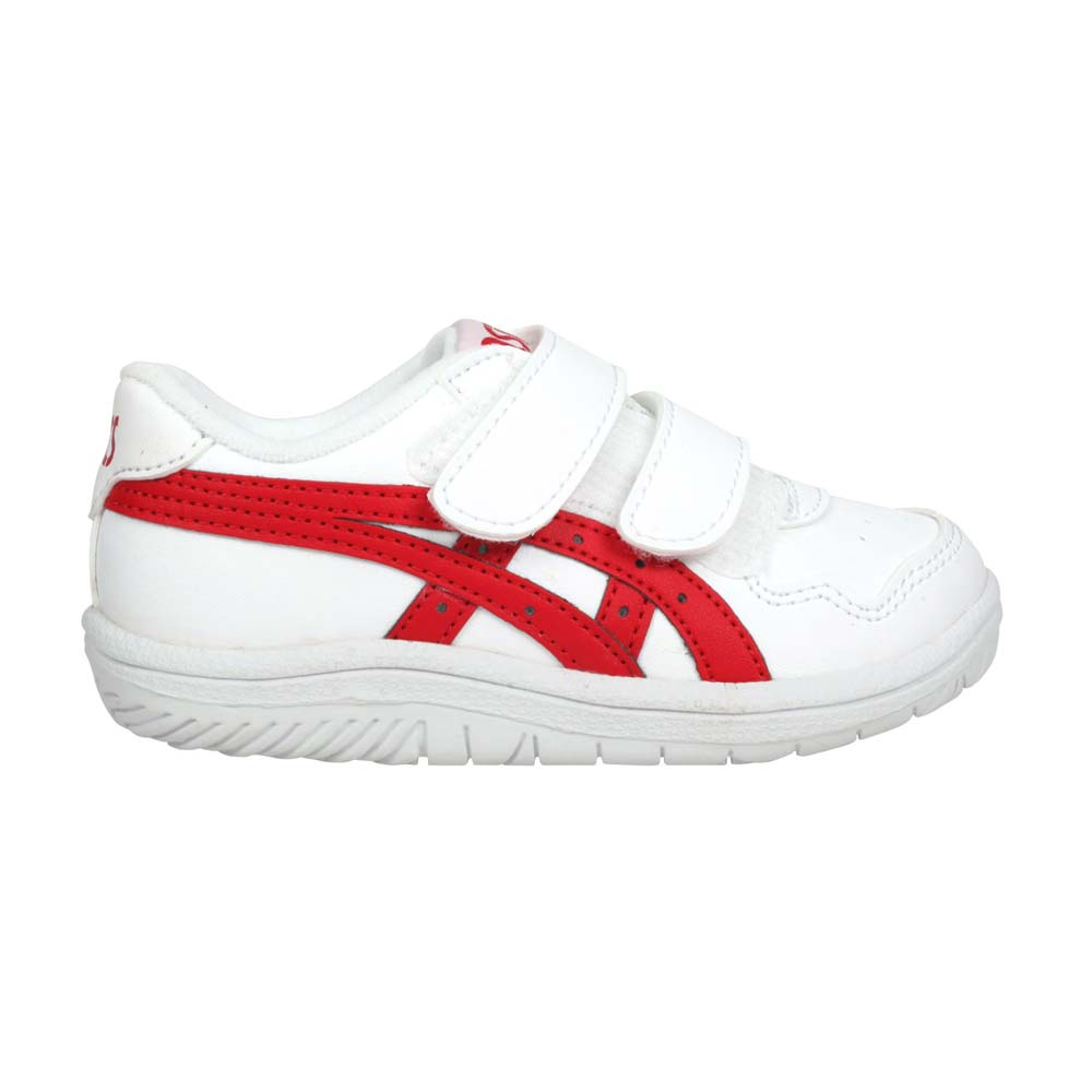 ASICS JAPAN S TS 男女小童休閒運動鞋-慢跑 亞瑟士 復古 童鞋 白紅@1194A082-140@