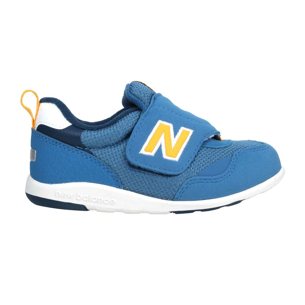 NEWBALANCE 男女小童復古慢跑鞋-NB N字鞋 寬楦 313系列 珊瑚藍黃@IT313FBY@