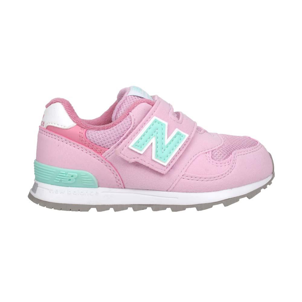 NEWBALANCE 男女小童復古慢跑鞋-313系列  NB N字鞋 童鞋 粉紅淺綠@IO313PP@
