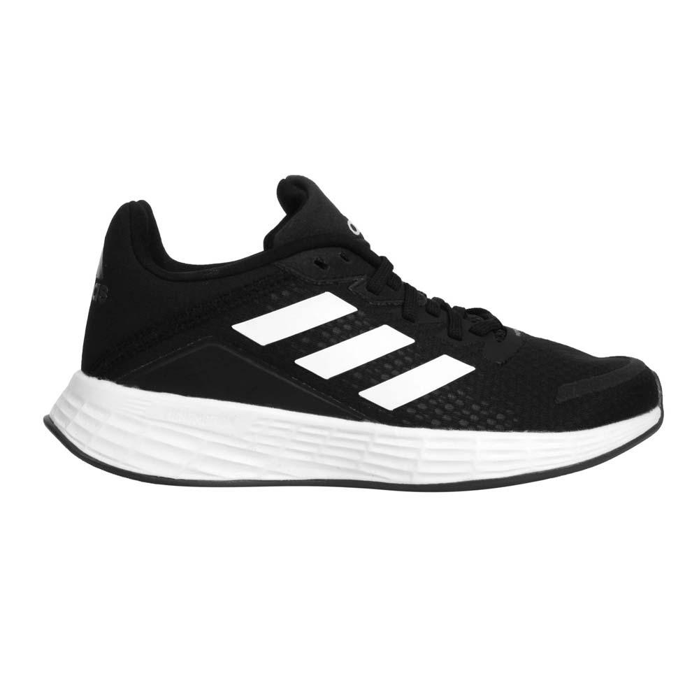 ADIDAS DURAMO SL K 男女大童慢跑鞋-愛迪達 童鞋 輕量 路跑 黑白@FX7307@