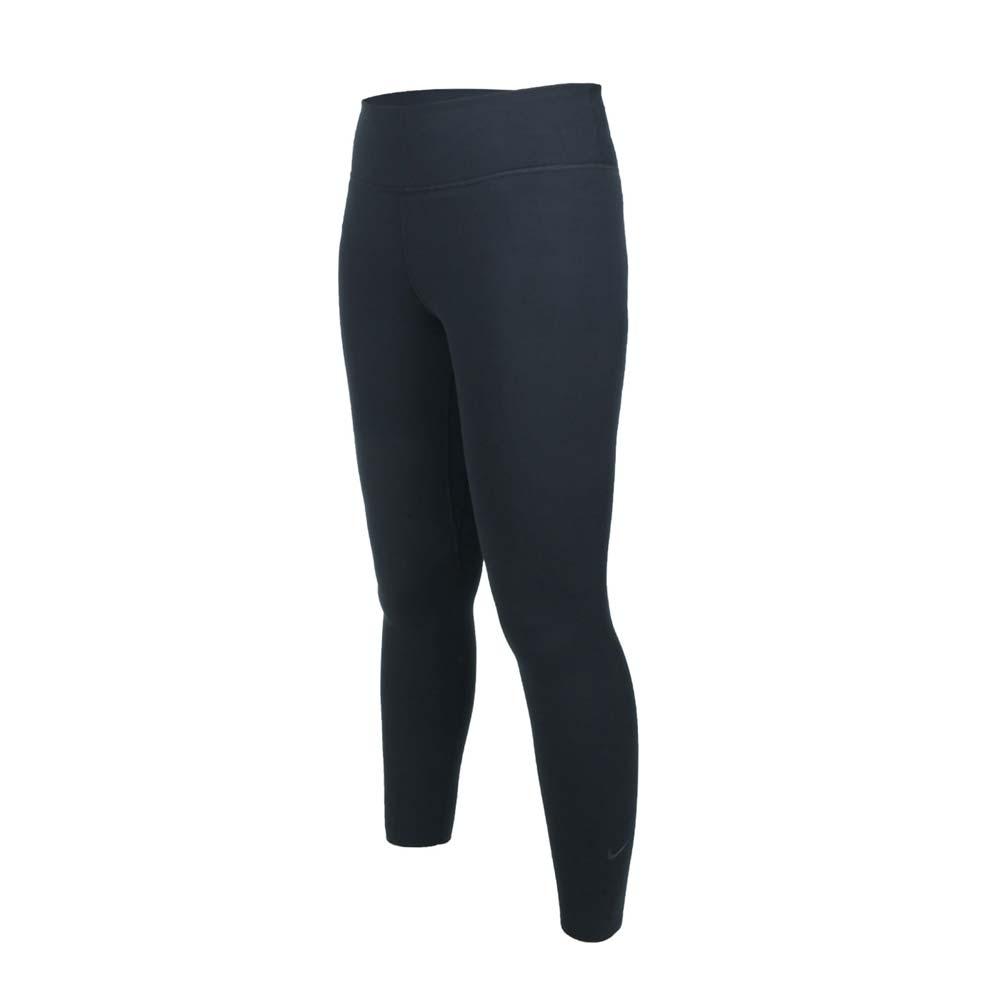 NIKE 女緊身長褲-ONE LUXE 內搭褲 DRI-FIT 瑜珈 有氧 訓練 黑白@BQ9995-010@