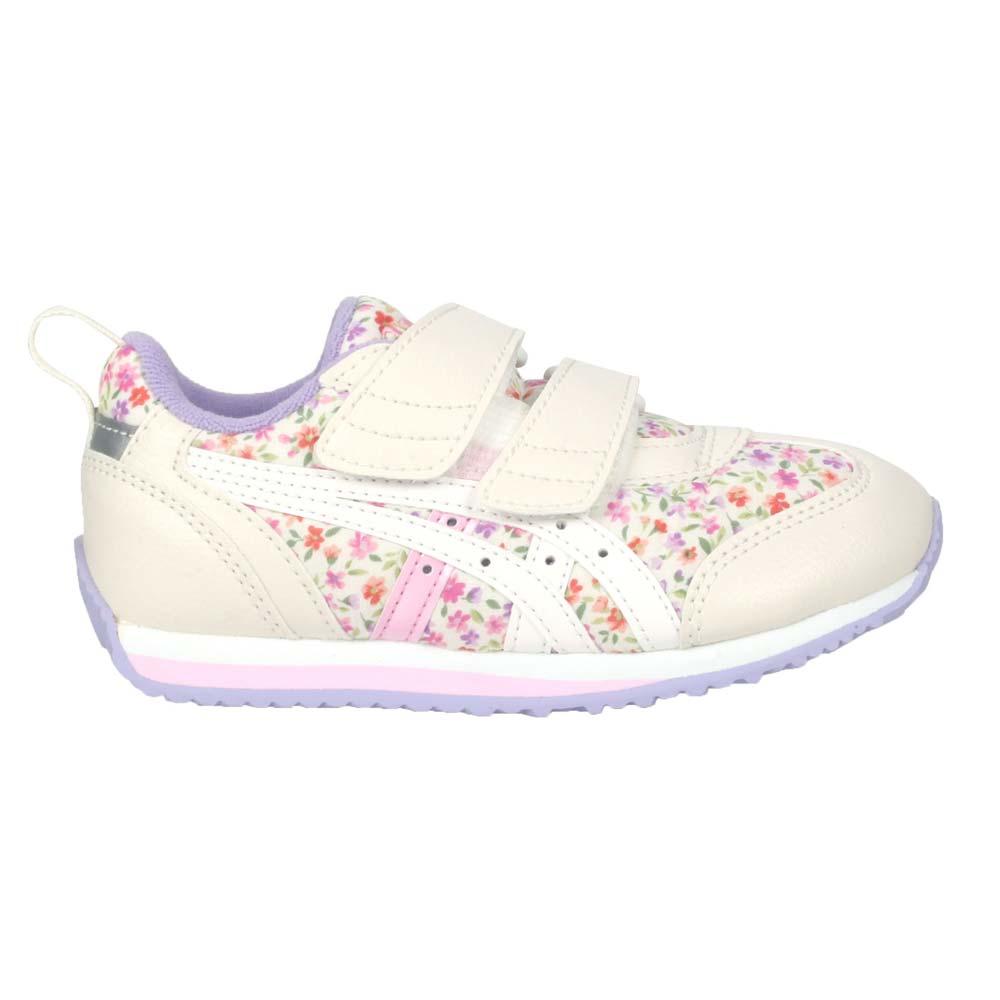 ASICS IDAHO MINI CT 3 女中童休閒運動鞋-慢跑 反光 亞瑟士 米白紫粉@TUM187-500@