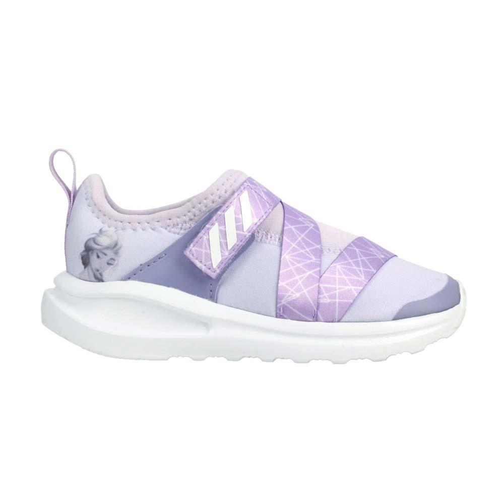 ADIDAS FORTARUN X FROZEN I 女小童休閒運動鞋-迪士尼 愛迪達 粉紫白@FV4262@