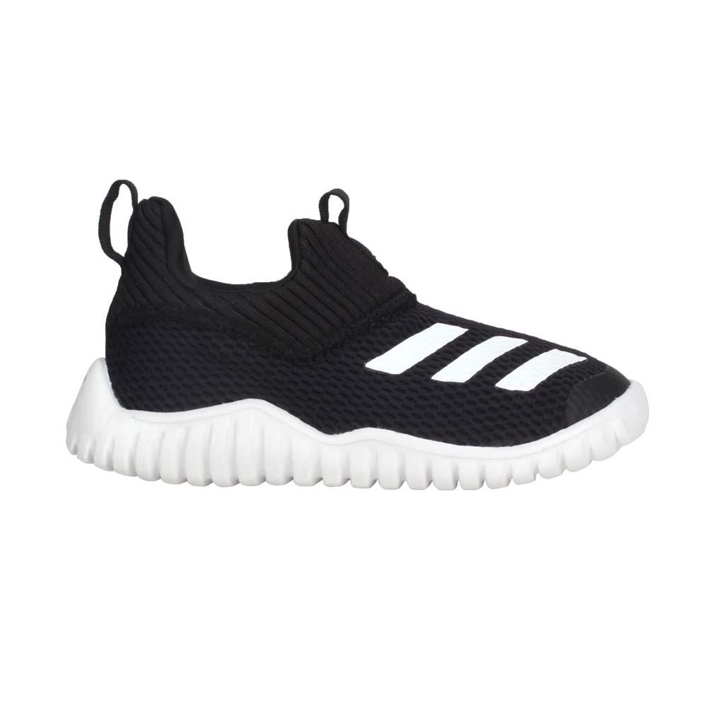 ADIDAS RAPIDAZEN 2 I 男女小童休閒運動鞋-慢跑 愛迪達 童鞋 黑白@FV2618@