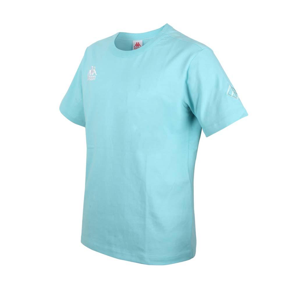 KAPPA DD52聯名男女短袖T恤-限量-菱格世代 純棉 台灣製 休閒上衣 粉綠白@33145BW-XND@