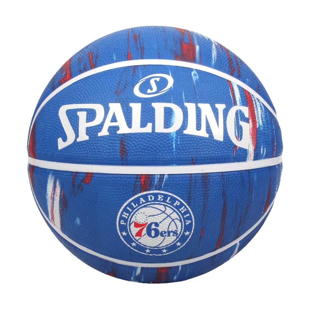 SPALDING NBA隊徽-76人 #7籃球-室外 7號球 運動 斯伯丁 藍紅白@SPA84149@