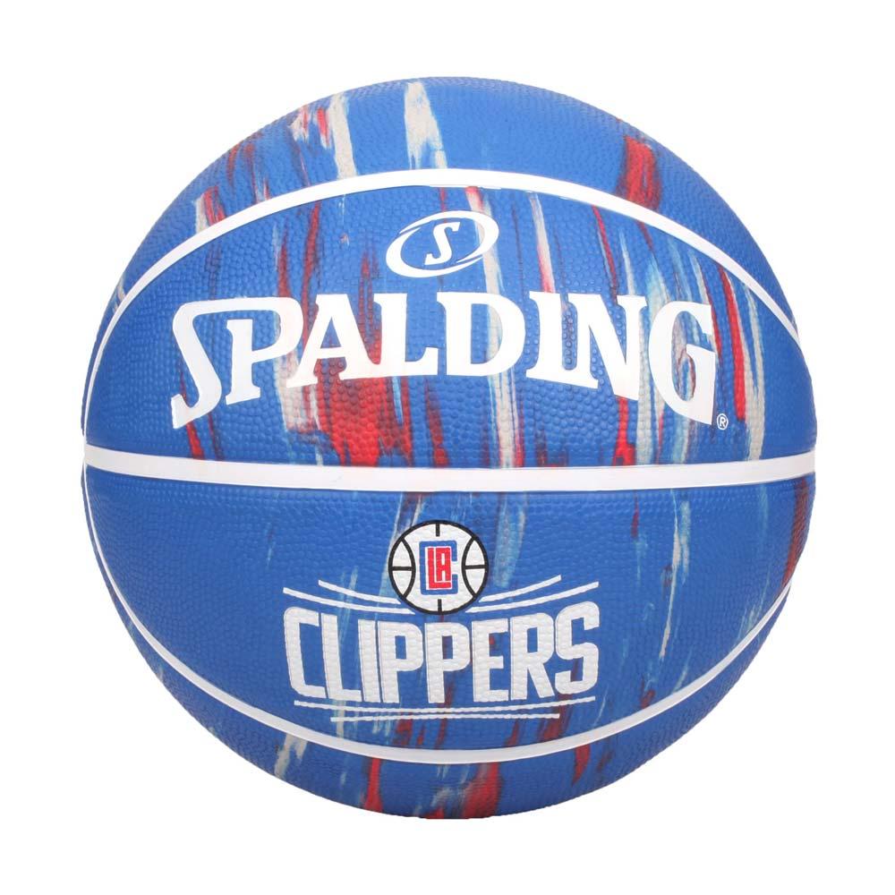 SPALDING NBA隊徽-快艇 #7籃球-室外 7號球 運動 斯伯丁 藍紅白@SPA84135@