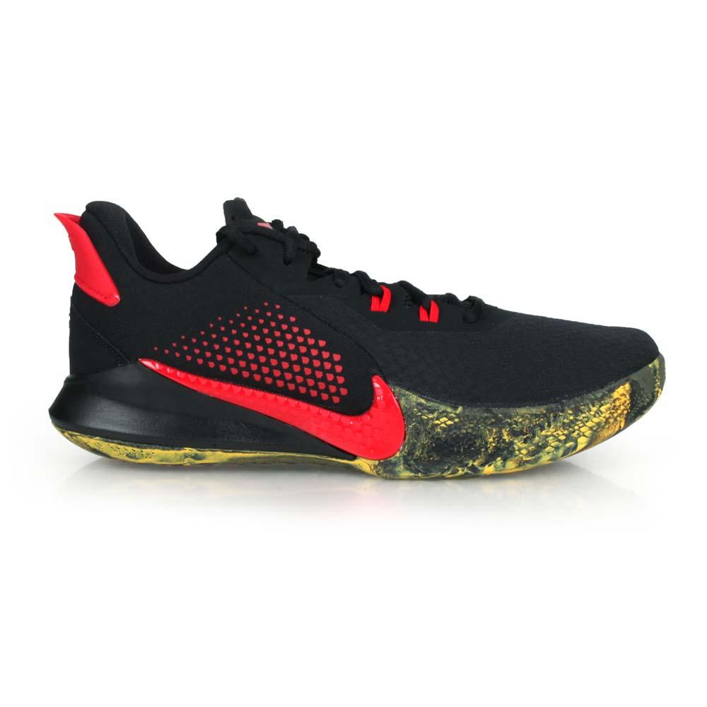 NIKE MAMBA FURY EP 男籃球鞋-KOBE 黑曼巴 XDR 明星款 黑紅黃@CK2088002@