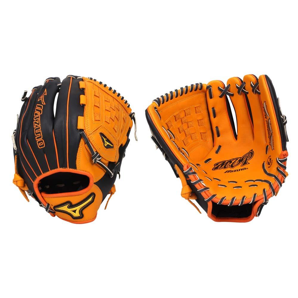 MIZUNO 壘球手套- 內野手 右投 棒球 訓練 美津濃 黑橘黃@1ATGS20830-5409@