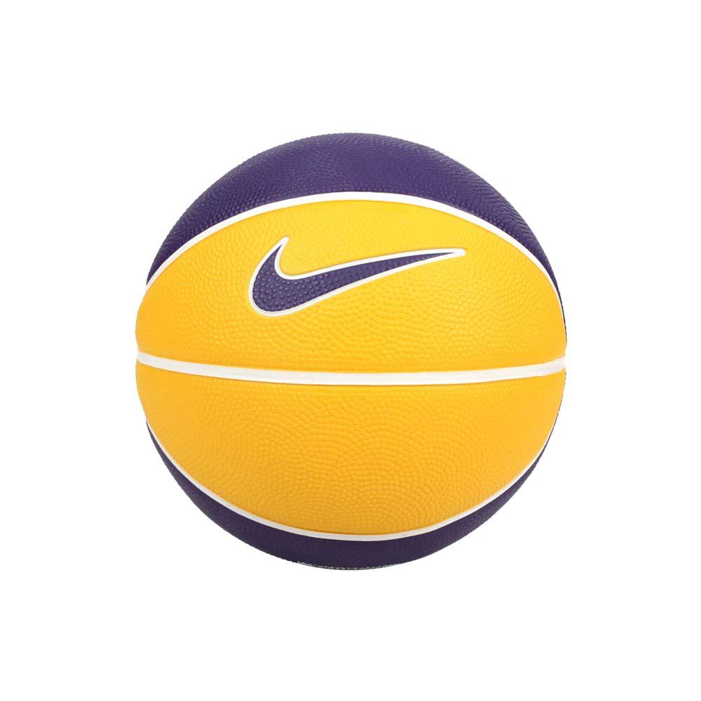 NIKE LEBRON SKILLS 3號籃球-室內外 訓練 運動 黃紫@N000314472803@