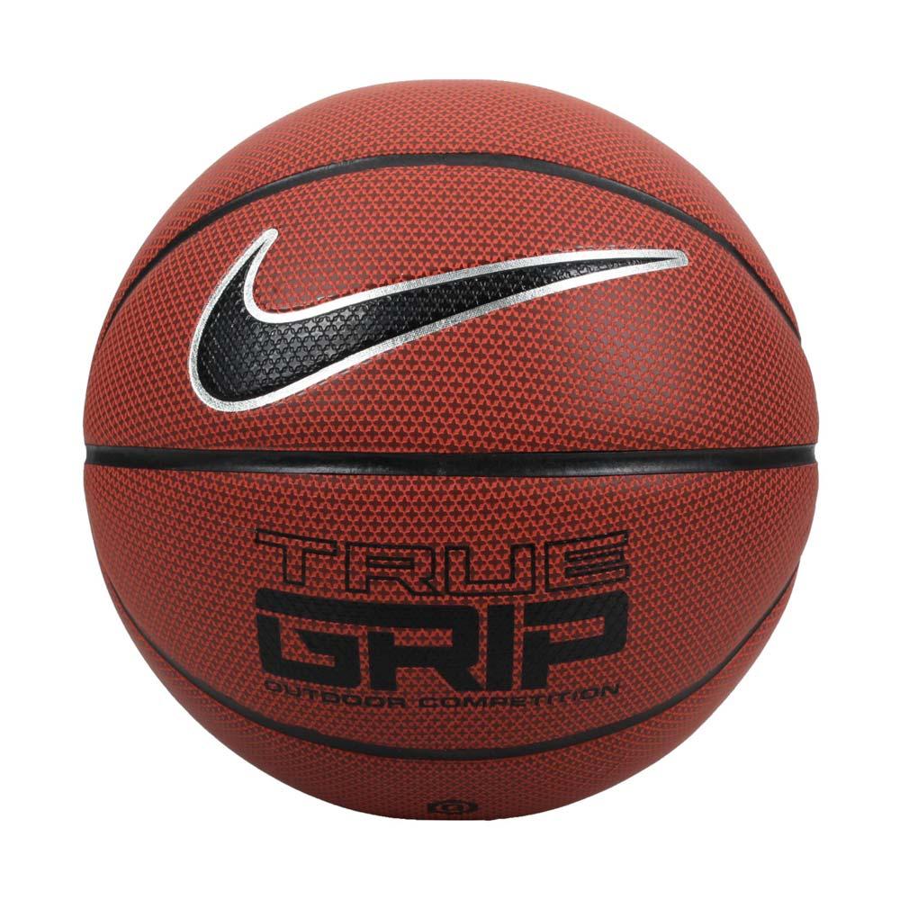NIKE TRUE GRIP OT 8P 6號籃球-戶外 訓練 運動 橘黑銀@NKI0785506@