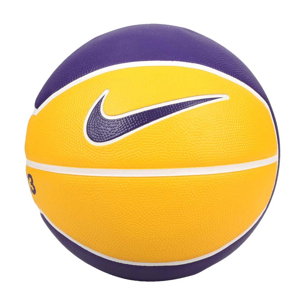 NIKE LEBRON PLAYGROUND 4P 7號籃球-室內外 訓練 黃紫@N000278472807@