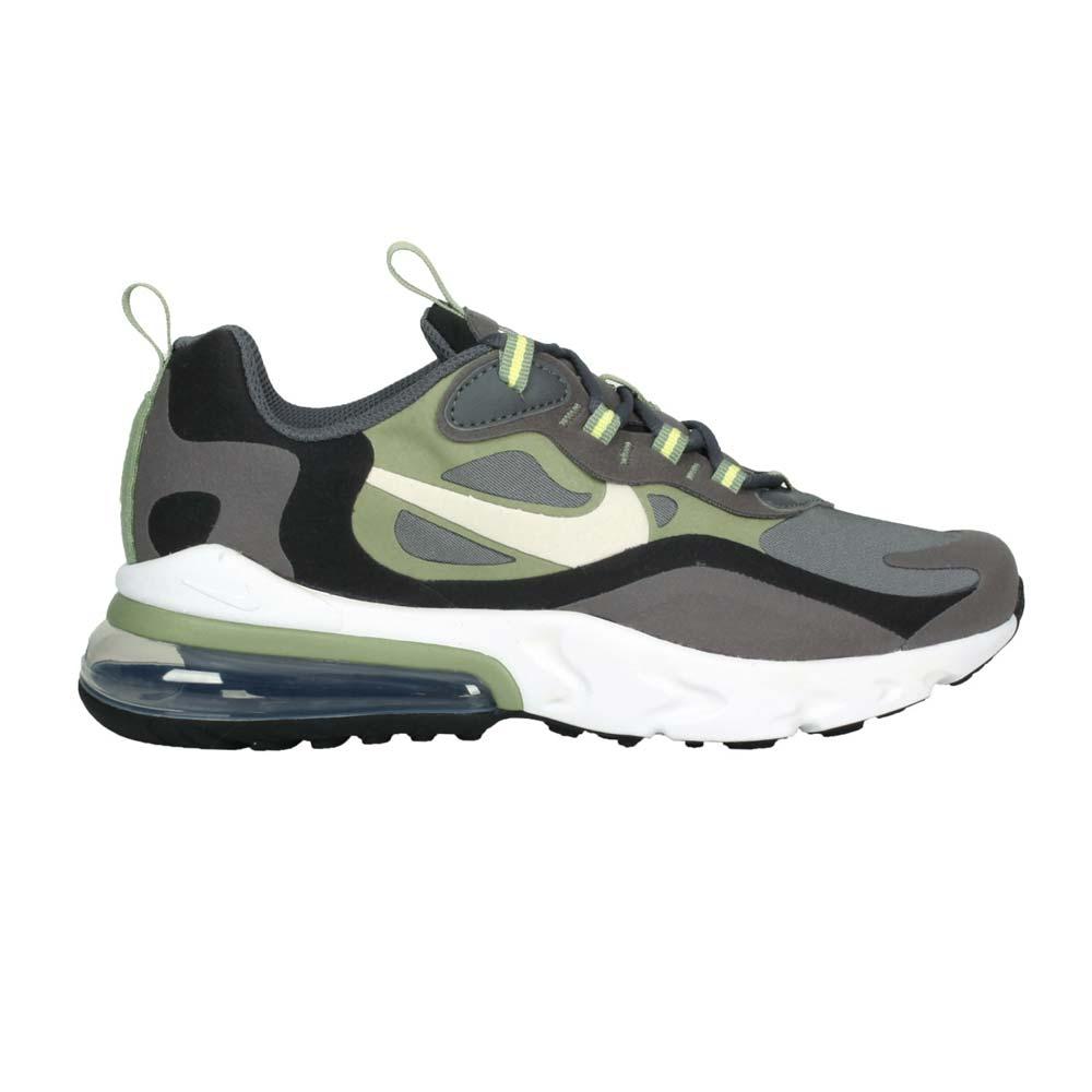 NIKE AIR MZX 270 REACT-GS男女大童氣墊 運動鞋 灰黑綠@BQ0103022@