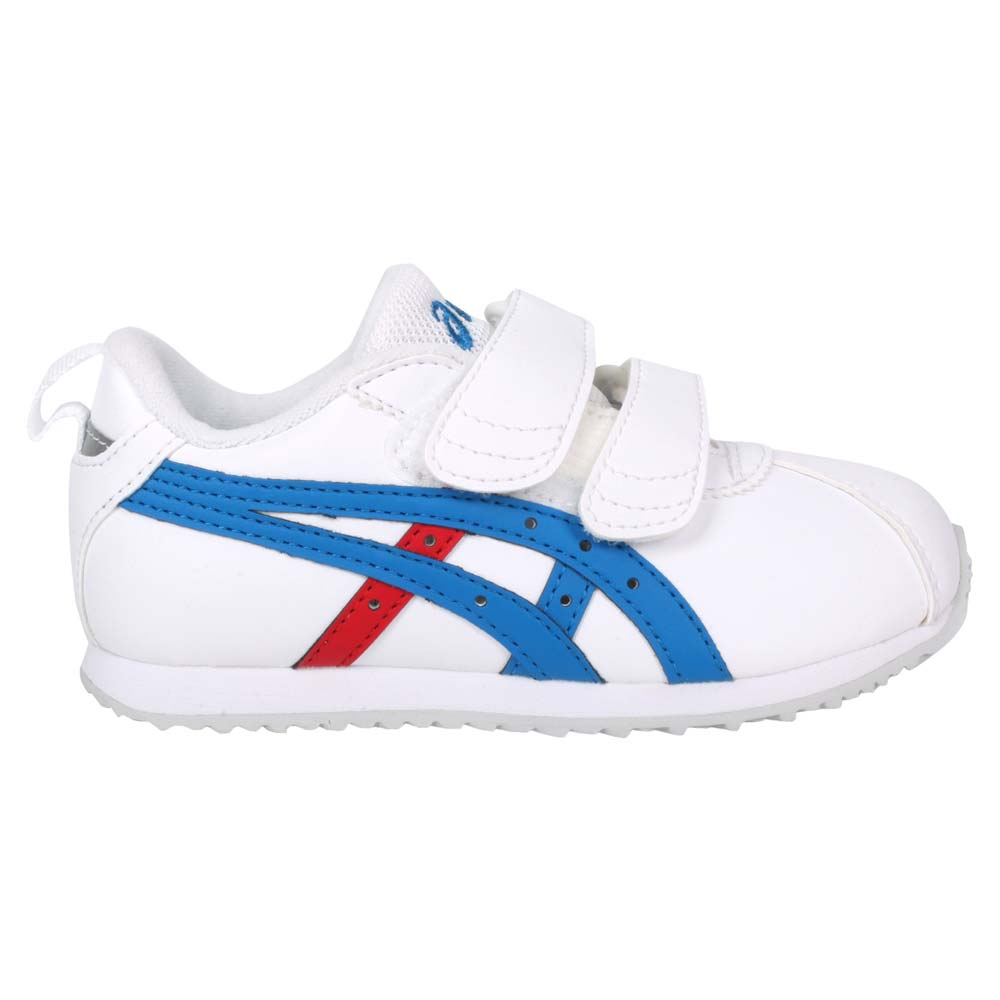 ASICS CORSAIR MINI SL 2 男女大童運動鞋-亞瑟士 白藍紅@1144A152-101@