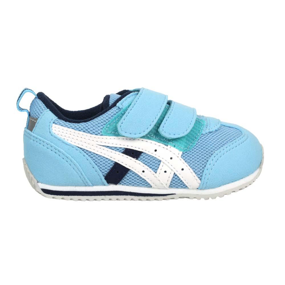 ASICS IDAHO BABY 3 男女小童運動鞋-魔鬼氈 反光 亞瑟士 水藍白丈青@TUB165-402@