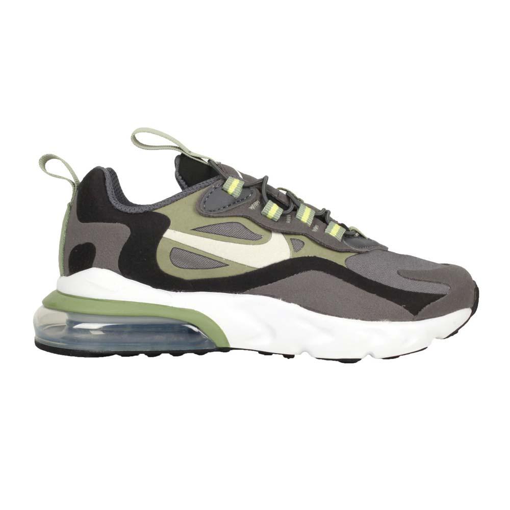 NIKE AIR MAX 270 RT-PS 男中童運動鞋-氣墊 慢跑 灰黑綠@BQ0102022@