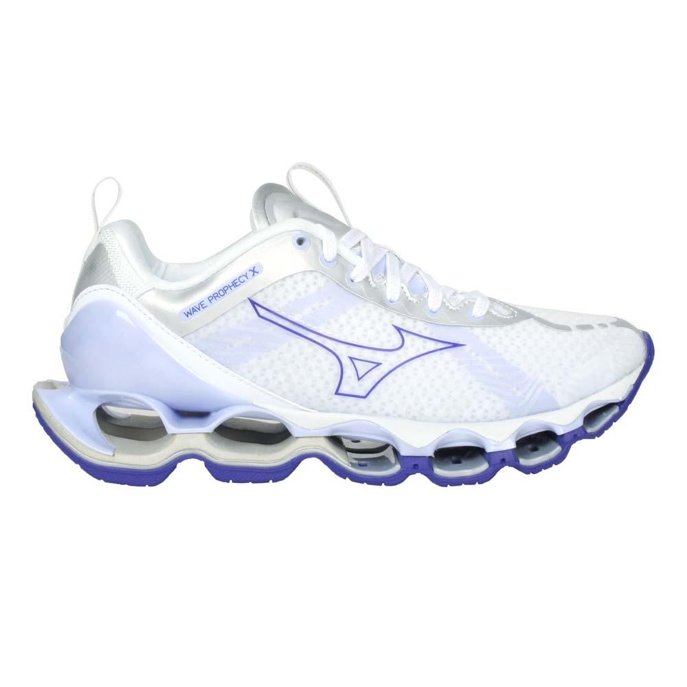 MIZUNO WAVE PROPHECY X 女慢跑鞋- 避震 運動 美津濃 白紫@J1GD210071@