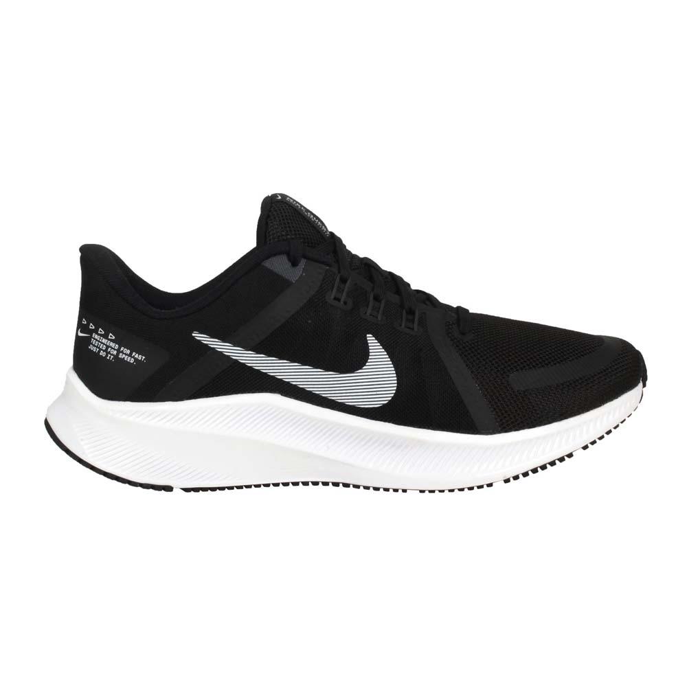 NIKE QUEST 4 男運動跑步鞋-路跑 訓練 輕量 黑白@DA1105006@