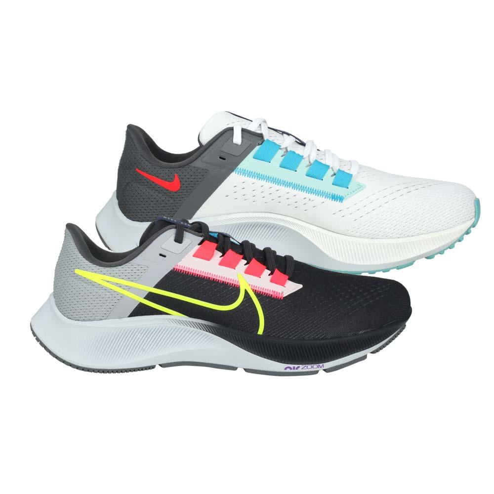 NIKE AIR ZOOM PEGASUS 38 LE 男慢跑鞋-路跑 飛馬 白藍綠亮粉@DJ3128001@