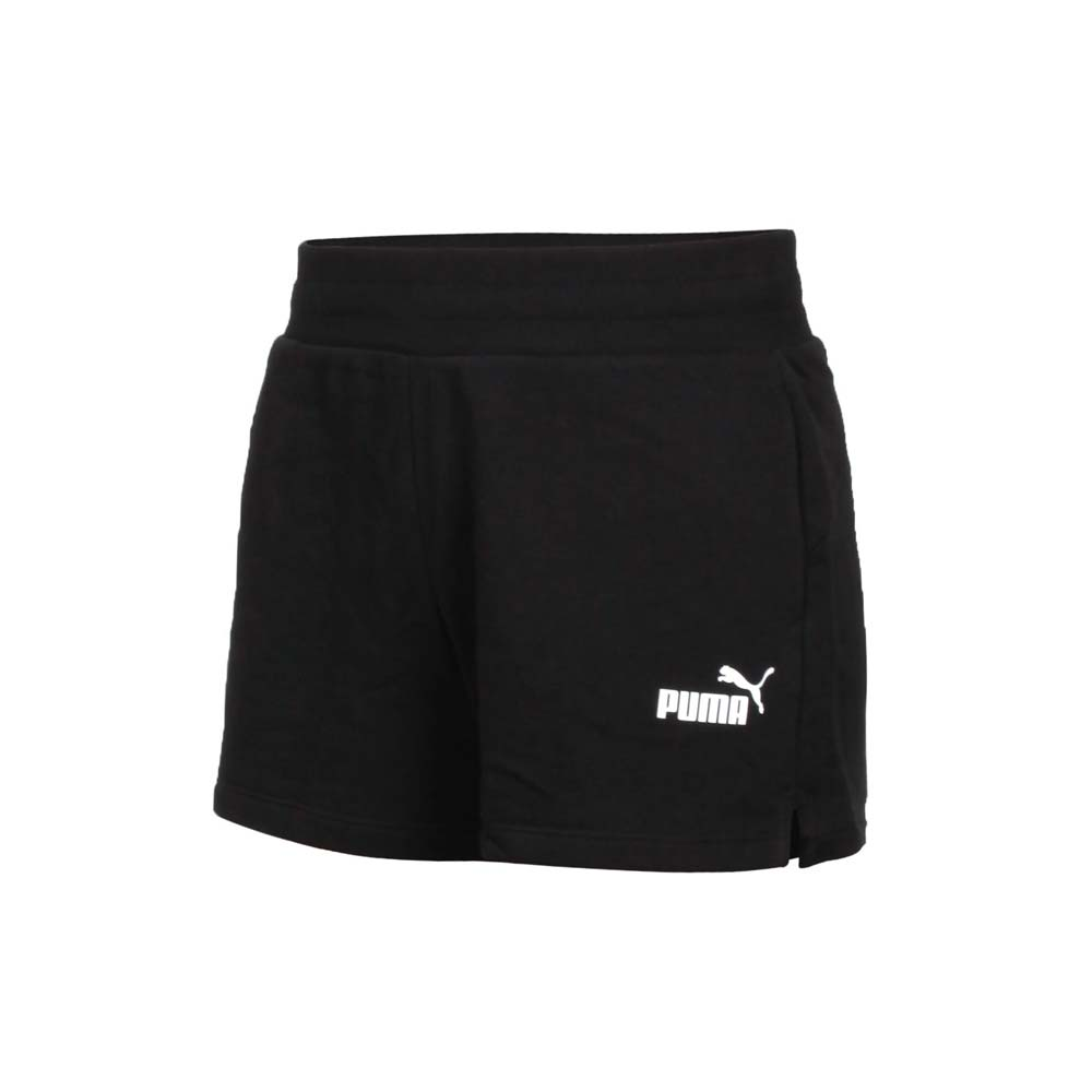 PUMA 基本系列ESS女4吋短褲-針織 三分褲 運動 慢跑 路跑 黑白@58682401@
