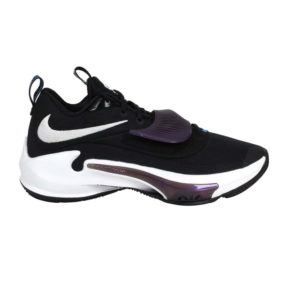 NIKE ZOOM FREAK 3 EP 男籃球鞋-訓練 運動 字母哥 黑紫白綠@DA0695-001@