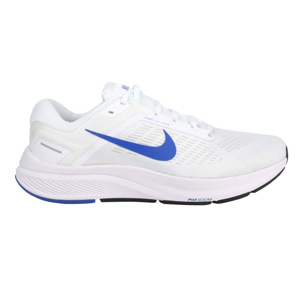 NIKE AIR ZOOM STRUCTURE 24 男休閒慢跑鞋-路跑 白藍@DA8535-100@