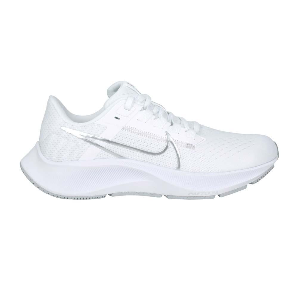NIKE WMNS AIR ZOOM PEGASUS 38女慢跑鞋-飛馬 白銀@CW7358-100@