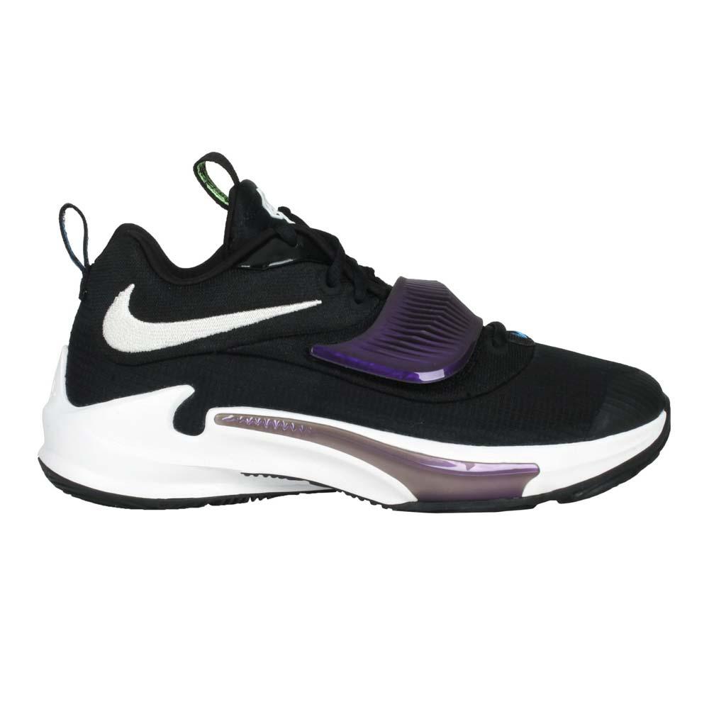 NIKE FREAK 3-GS 女籃球鞋-中筒 訓練 運動 字母哥 黑紫白@DB4158-001@