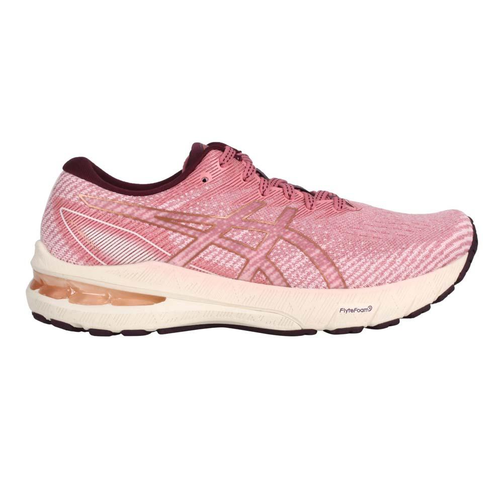 ASICS GT-2000 10 女慢跑鞋-路跑 亞瑟膠 避震 亞瑟士 玫紅紫金@1012B045-701@