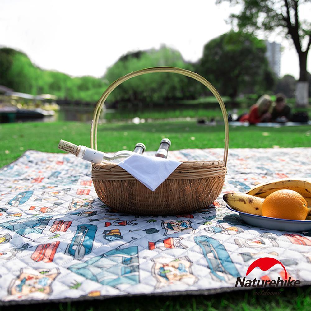 Naturehike 戶外防潑水加厚休閒野餐墊 防潮墊 加大款