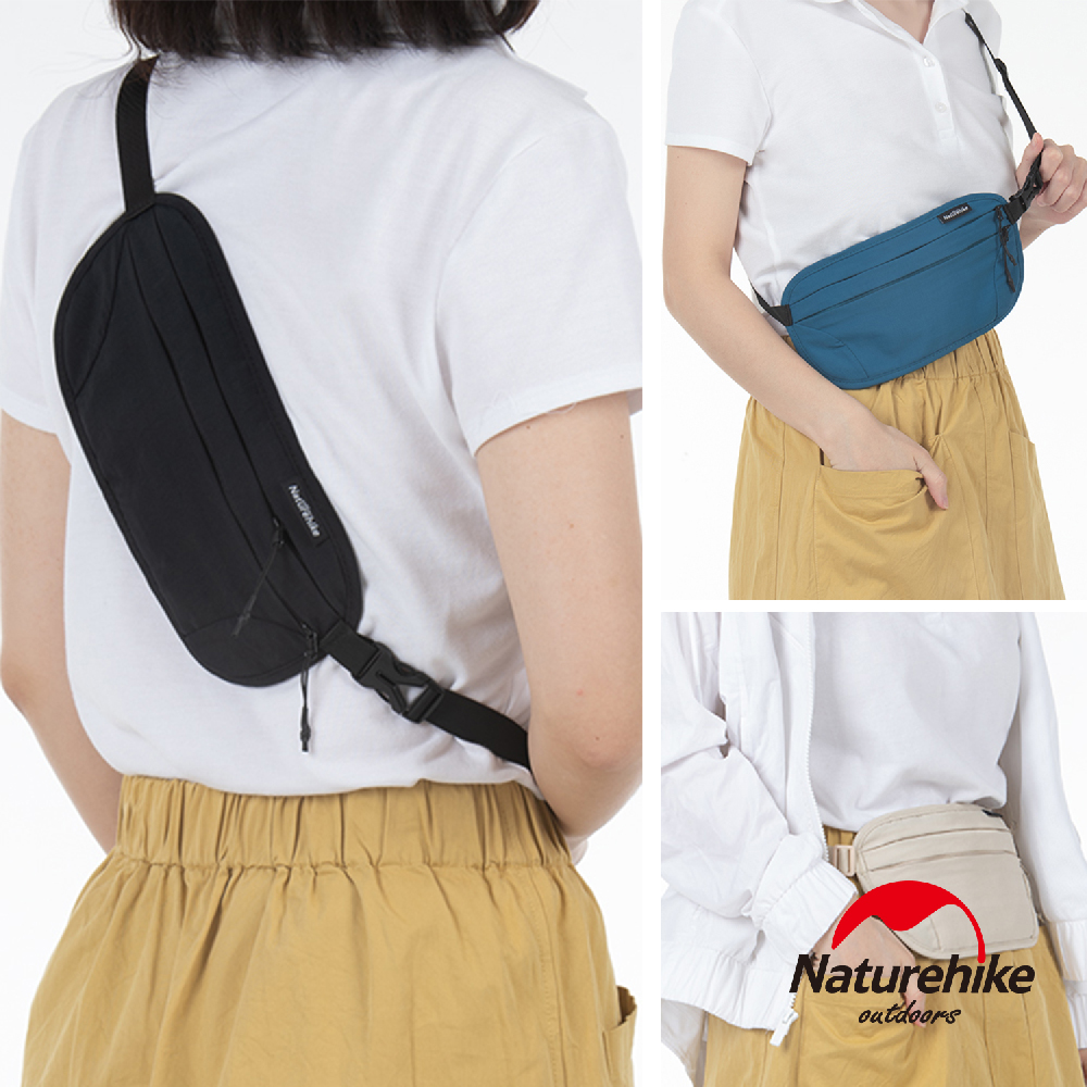 Naturehike 旅行用防潑水防盜刷貼身腰包 胸前包