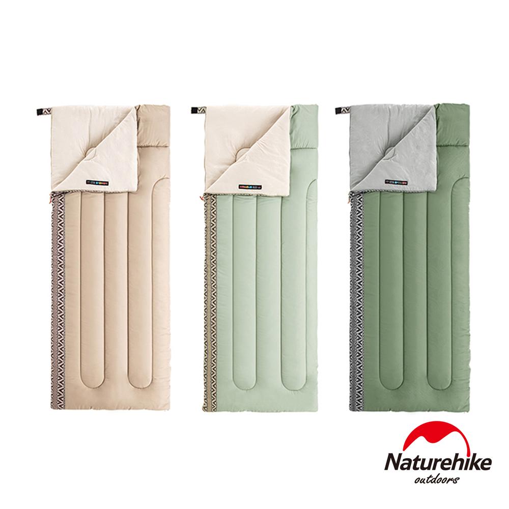 Naturehike L150質感圖騰透氣可機洗信封睡袋 標準款