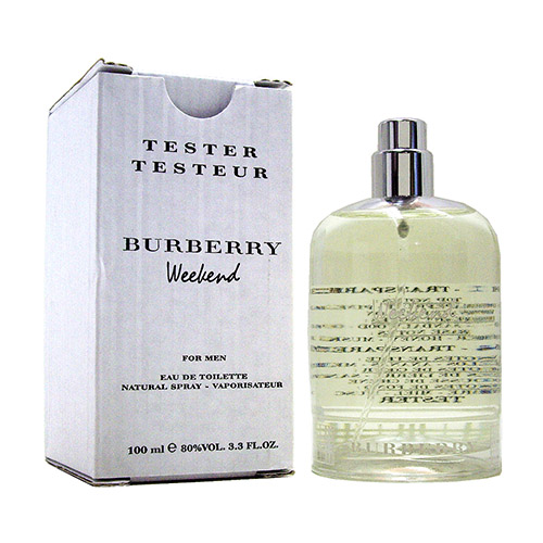 BURBERRY Weekend 週末男性淡香水 100ml tester(無蓋)