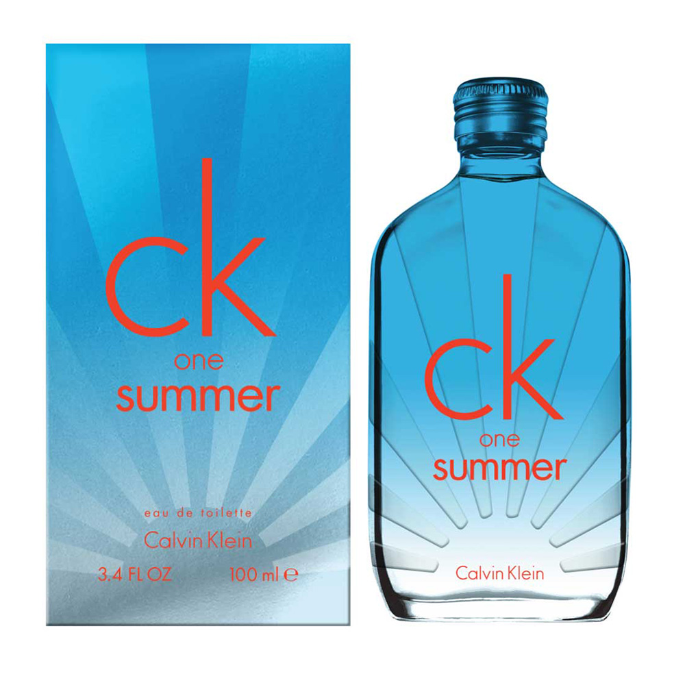 Calvin Klein CK one Summer 2017限量版中性淡香水100ml