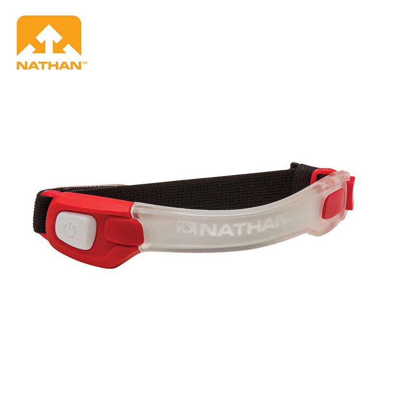 NATHAN LightBender 輕量防水LED手臂環 兩色