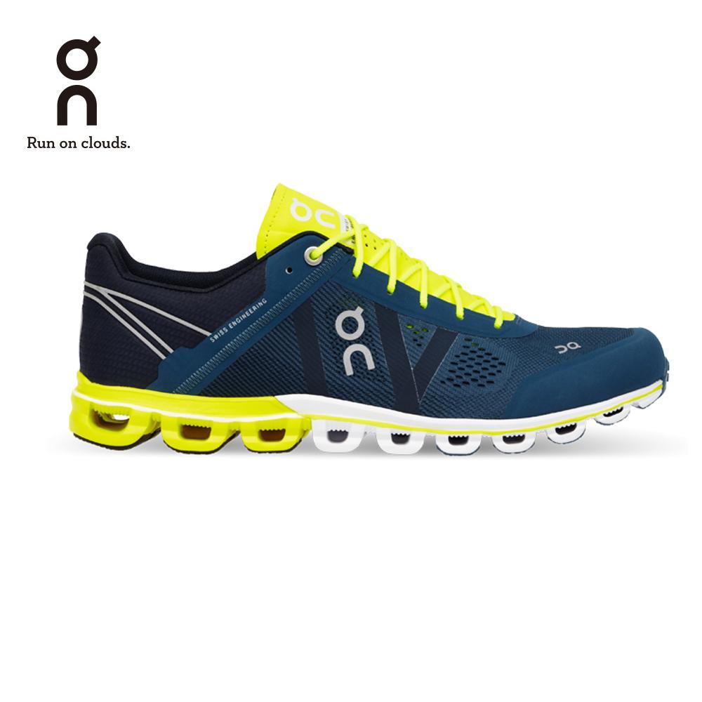 ON 瑞士雲端科技跑鞋-流星雲 男款 武士藍