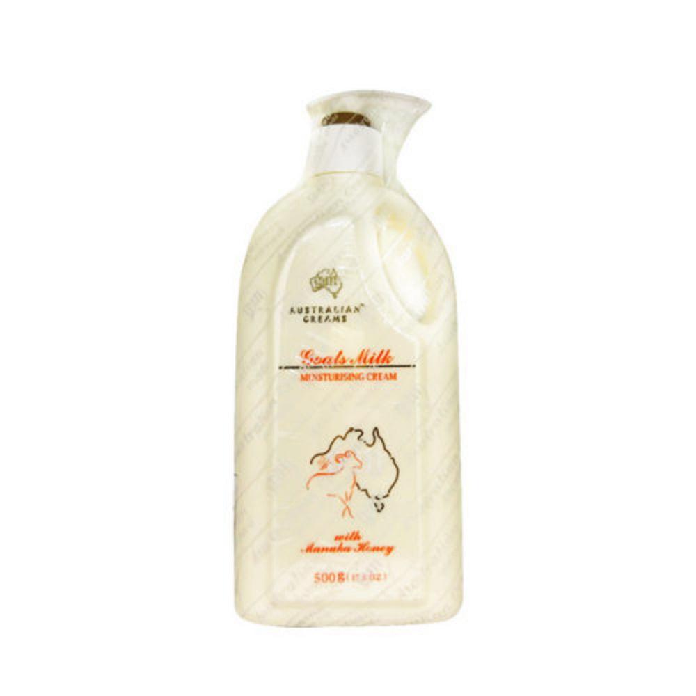 澳洲G&M 麥蘆卡蜂蜜羊奶霜  500g 效期:2021.03