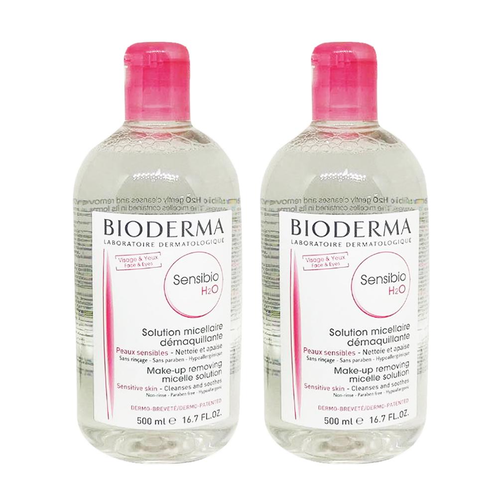 【企業獨享】BIODERMA 高效潔膚液  500ml (新舒/一般肌) 兩入組