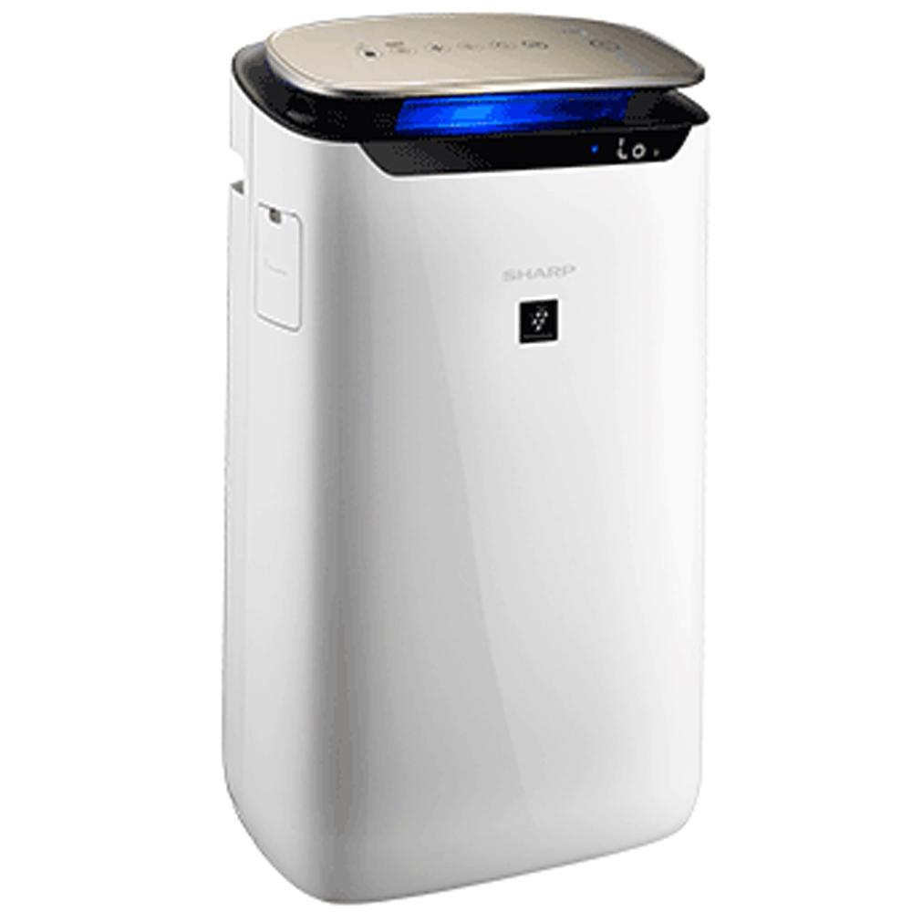 狂歡購物月 SHARP 夏普 19坪 自動除菌離子空氣清淨機 FP-J80T-W