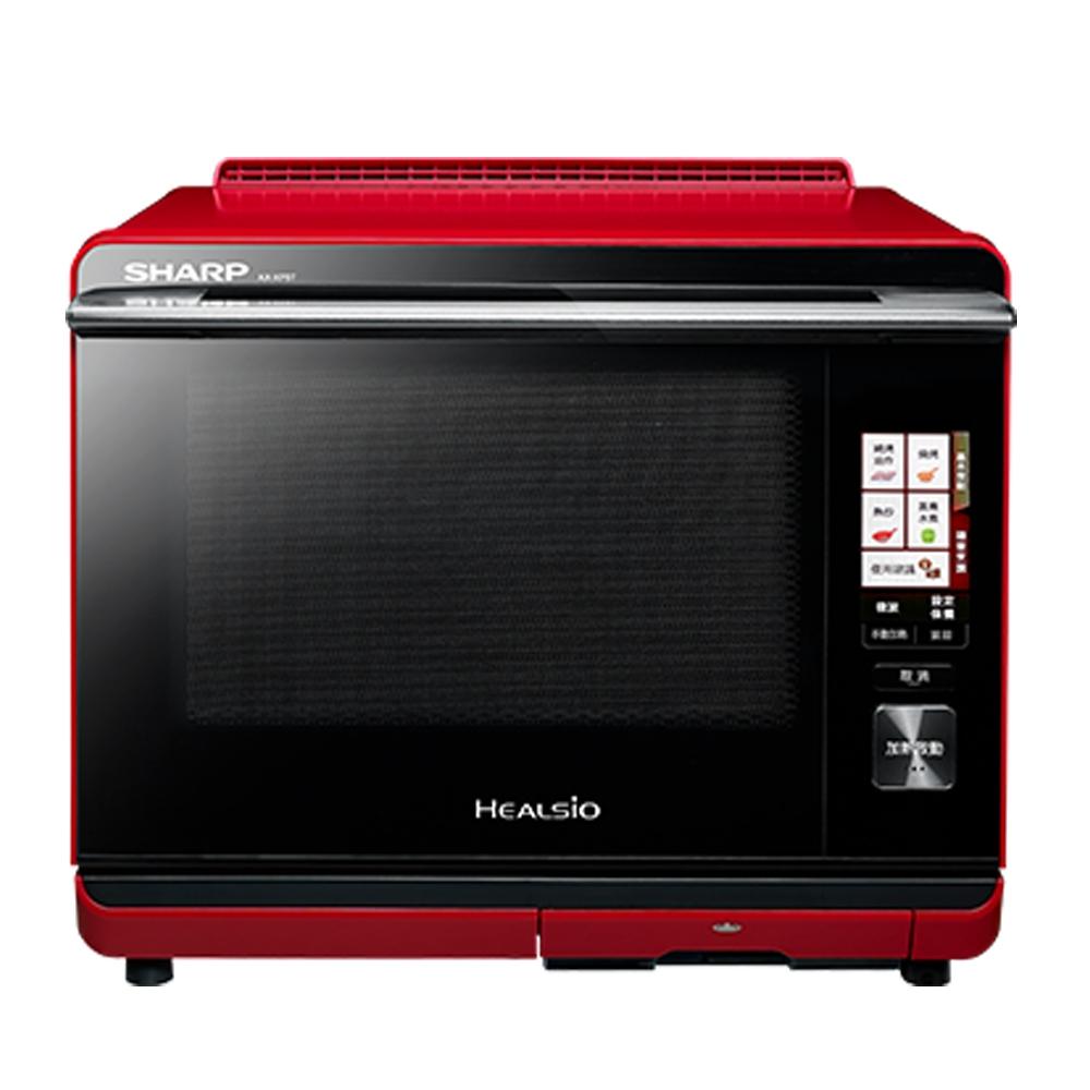 狂歡購物月 SHARP 夏普 30L 新HEALSiO水波爐(紅) AX-XP5T(R)