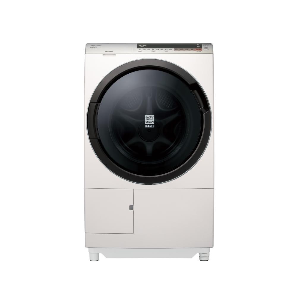 HITACHI日立 日本原裝11.5kg洗脫烘滾筒洗衣機左開 BDSX115CJ-N