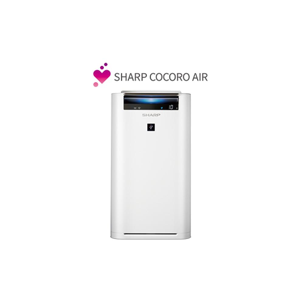 狂歡購物月 SHARP 夏普 14坪 日製原裝AIoT智慧空氣清淨機 KC-JH61T-W