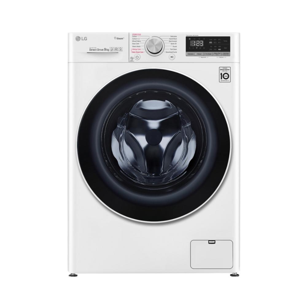 LG樂金9公斤蒸洗脫烘變頻滾筒洗衣機 WD-S90VDW