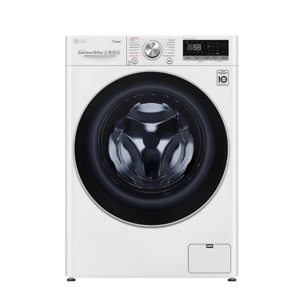 LG樂金10.5公斤蒸氣洗脫滾筒洗衣機 WD-S105VCW