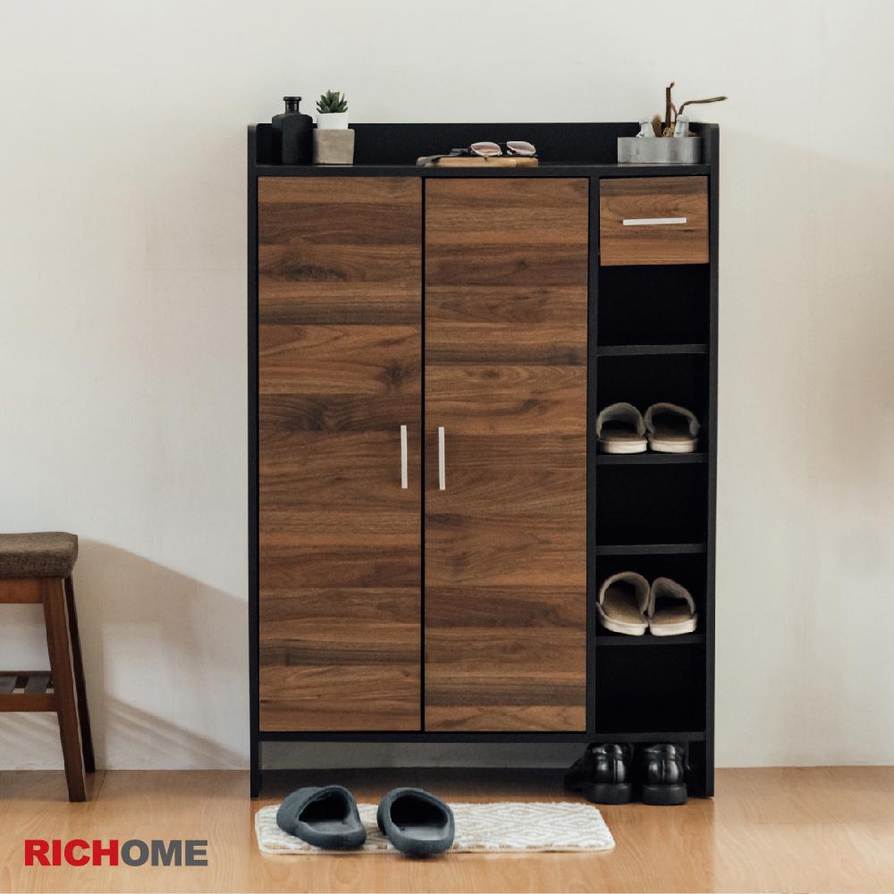 (原價2499元)【RICHOME】愛麗絲雙門一抽鞋櫃