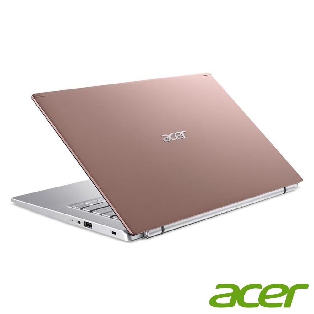 ACER A514-54G-521D  粉 I5-1135G7 / DDR4 8G(Onboard)(MAX 24G) / 1TB HDD / MX 350 2G / 14 FHD IPS / Win10