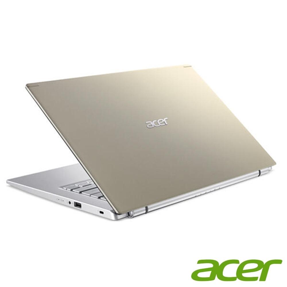 ACER A514-54G-56X3  金 I5-1135G7 / DDR4 8G(Onboard)(MAX 24G) / 1TB HDD / MX 350 2G / 14 FHD IPS / Win10