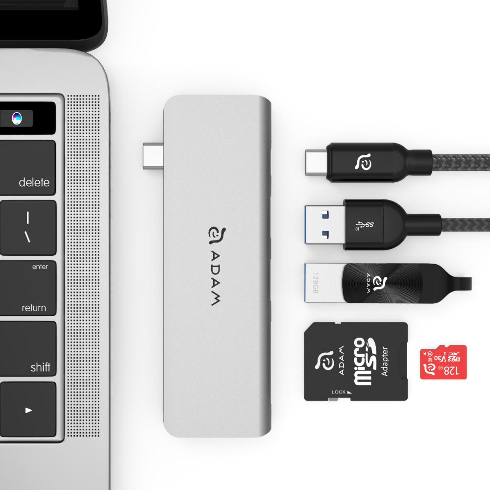 ADAM 亞果元素 Hub 5E USB 3.1 USB-C 5 port 多功能轉接器
