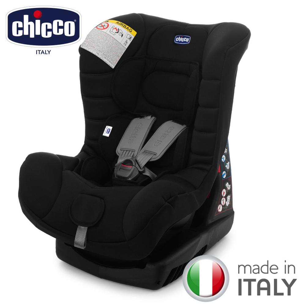 chicco-ELETTA comfort寶貝舒適全歲段安全汽座-優雅黑