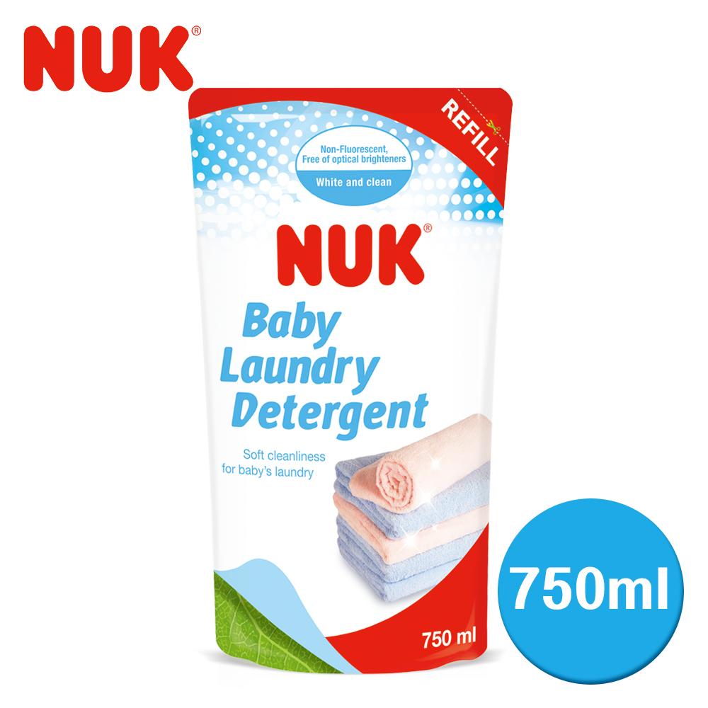 德國NUK-嬰兒洗衣精補充包750ml